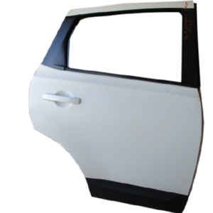 Nissan Qashqai anno dal 2007 al 2013 Porta posteriore destra bianca