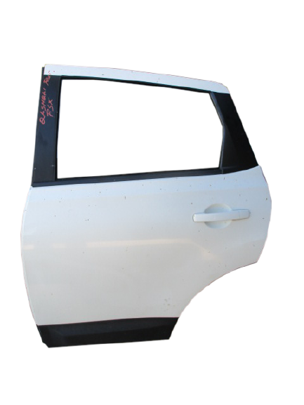 Nissan Qashqai anno dal 2007 al 2013 Porta posteriore sinistra bianca