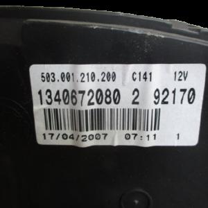 Citroen Jumper fiat ducato peugeot boxer 2200 Diesel anno dal 2006 al 2014 Quadro strumenti 503.001.210.200 134067200 2 92170