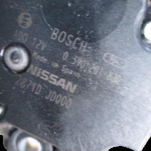 Nissan Qashqai 1500 Diesel anno dal 2007 al 2013 Motirino tergi posteriore 0390201820 2871D JD000