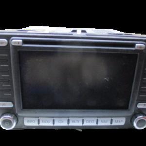 Volkswagen Passat B6 anno dal 2005 al 2010 Monitor display navigatore 1K0035198C Blaupunkt GMBH 7612002071